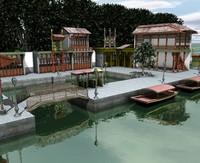 china port 3d model