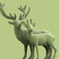 deer 3d model