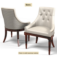 galimberti nino gera art deco modern dining chair