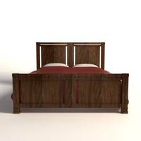 Frank Lloyd Wright Meyer-May Bed
