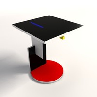 Gerrit Thomas Rietveld Schroeder Table