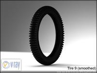 tire 9 3d model