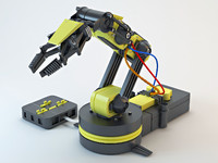 Industrial Robotic arm_01