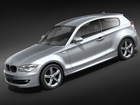 bmw 1 3door hatchback midpoly