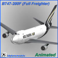 B747-200F Southern Air