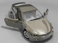 bmw 6 2004 3d model