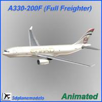 Airbus A330-200F Etihad Crystal Cargo