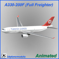 Airbus A330-200F Turkish Airlines Cargo