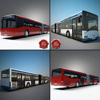 Articulated Buses Collection