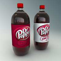 Dr Pepper 2L bottles