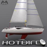 HotBird 34` Sailboat
