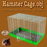 hamster cage 3d model