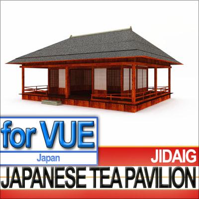 Japanese Tea Pavilion [Edo Era]
