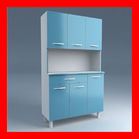 Cupboard blue