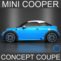 mini concept coupe 3d model
