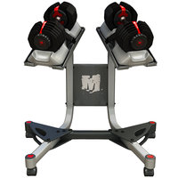 Bowflex or Nautilus Dumbbell Set with Stand, Dumbbells, weights, Barbells, exercise equipment