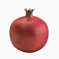 pomegranate 3d model