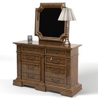 drexel classic chest 3d model
