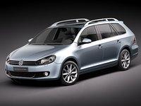 Volkswagen Jetta Wagon - Golf Variant 6 VI