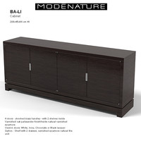 modenature ba-li sideboard 3d model