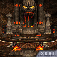 3DRT-Molten-Chasm-dungeon-set-Full