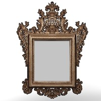 paoletti mao classic mirror baroque carved carving