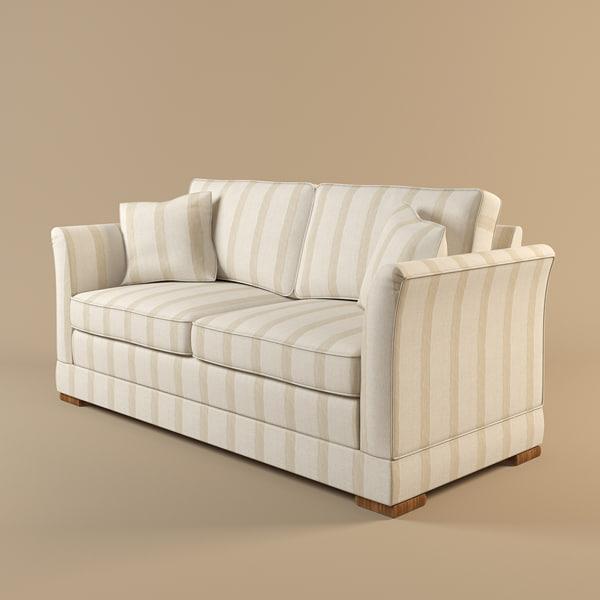 2 3d model. Black Bedroom Furniture Sets. Home Design Ideas