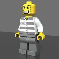 3 LEGO Minifigures