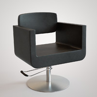 hydraulic chair 3d model