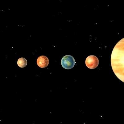 nine planet solar system 3d - photo #13