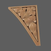 Wooden spandrel #2