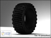 tire 19 3d model