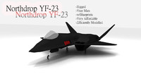 Northdrop YF-23 Black Widow