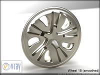 wheel 18 3d model