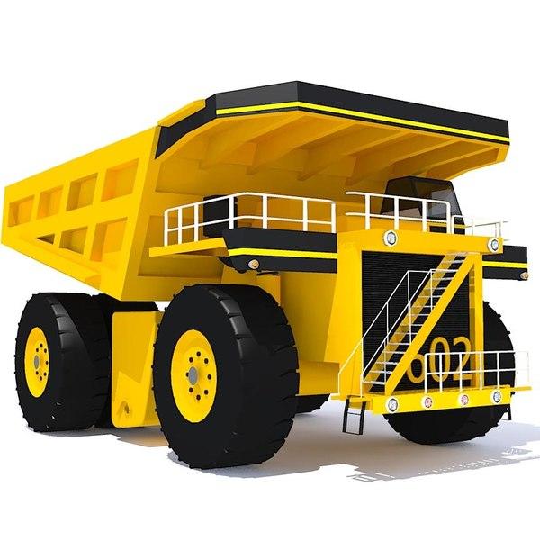 3ds max dumper truck