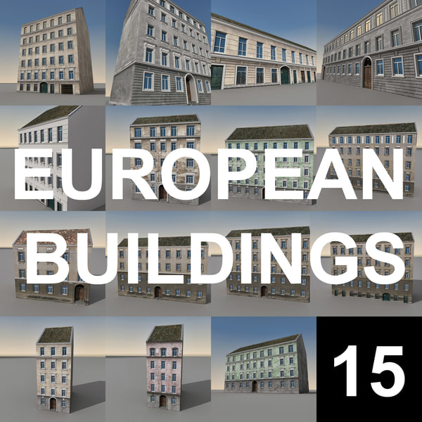european buildings europe max