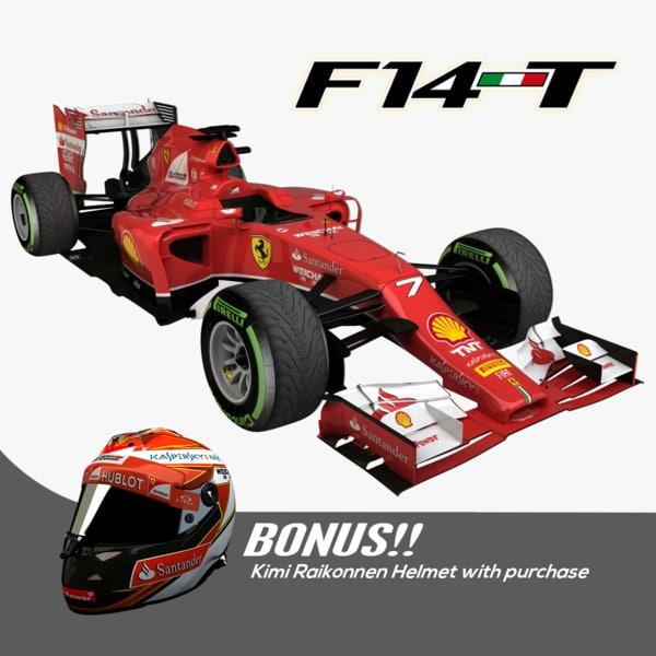 2014 Formula 1 Ferrari F14 T Kimi Bonus