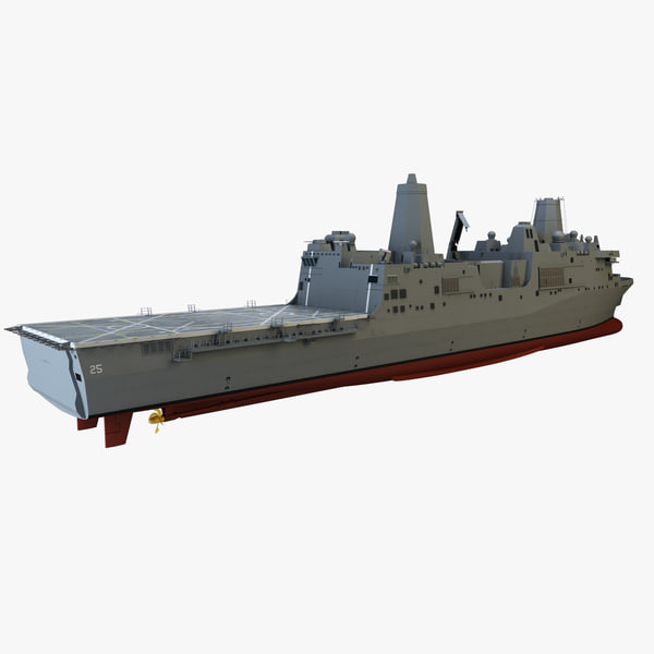 3d uss somerset model