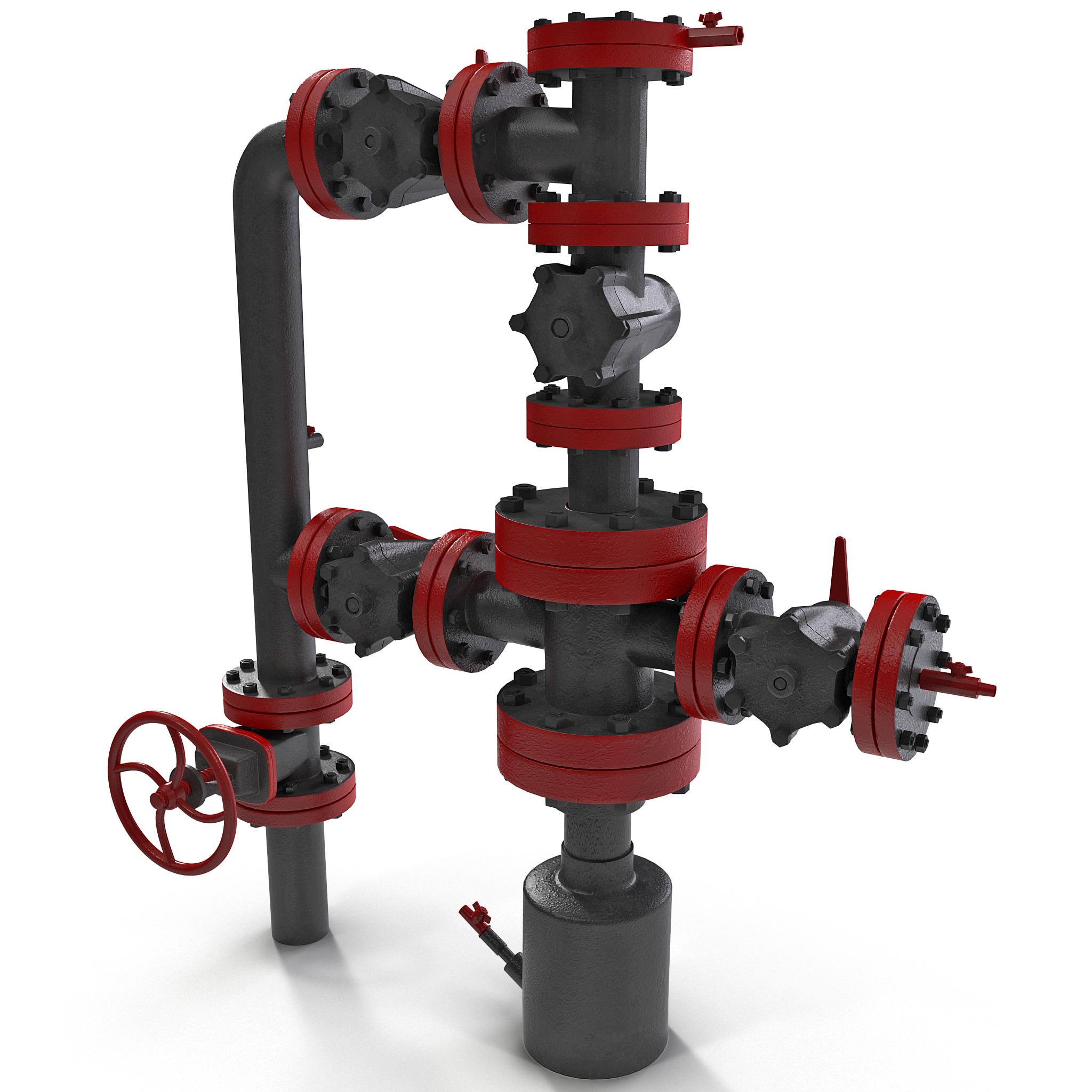 Oil Wellhead with Valve_146.jpg