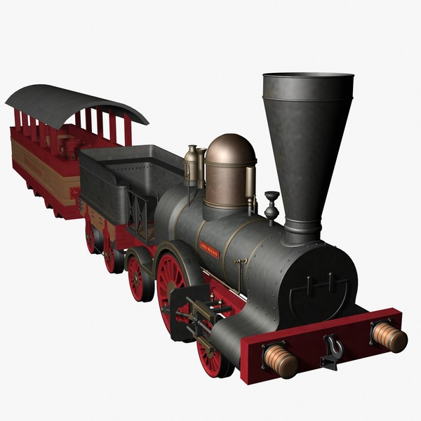 3d model john molson locomotive - John Molson Locomotive... by mostlysquare