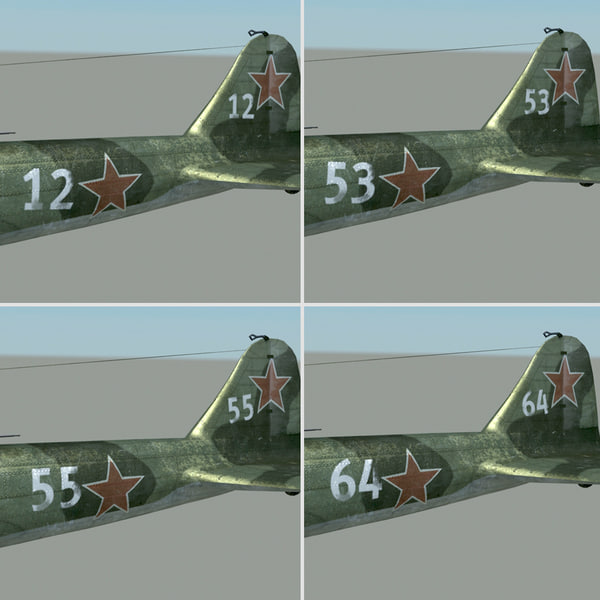 3d Il 2 Russian Air Fighter
