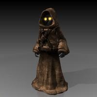 jawa character 3d model