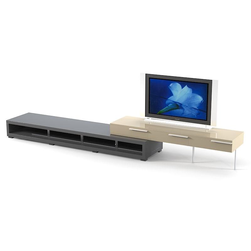 misuraemme misura emme 3d model -> Sideboard Tv Möbel