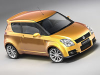 suzuki swift sport 3d model