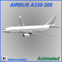 Airbus A330-200 Generic white