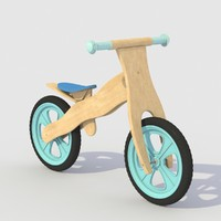 children bike 3d model