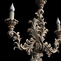 candelabrum interior materials 3d model