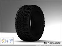 tire 1 3d model