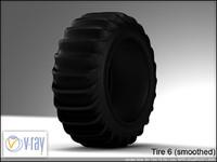 Tire 6 (sand tire 1)