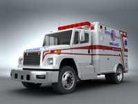 FreightLiner Emergency Ambulance